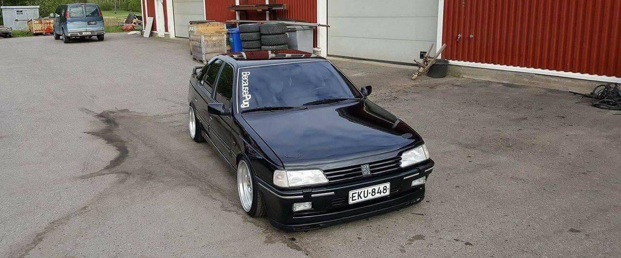 Peugeot 405 V6... Ringard attitud' ?! 1