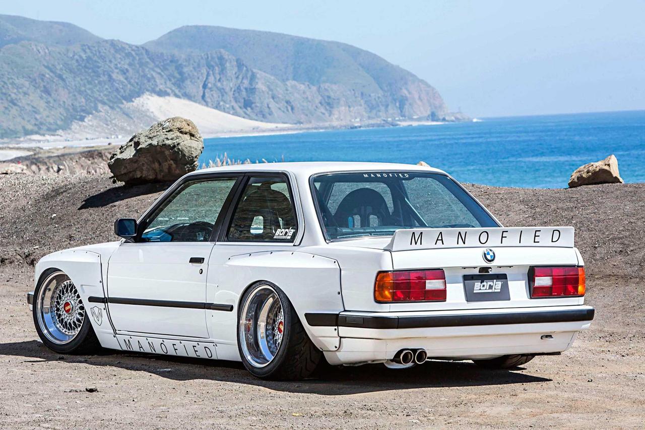 BMW E30 325is en Rocket Bunny... Musclé le lapin ! 4