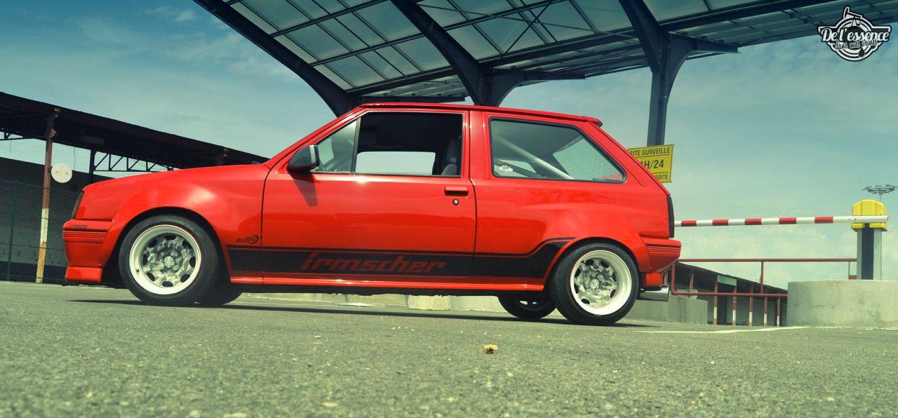Opel Corsa GSi : Alain et sa fraise Tagada ! 32