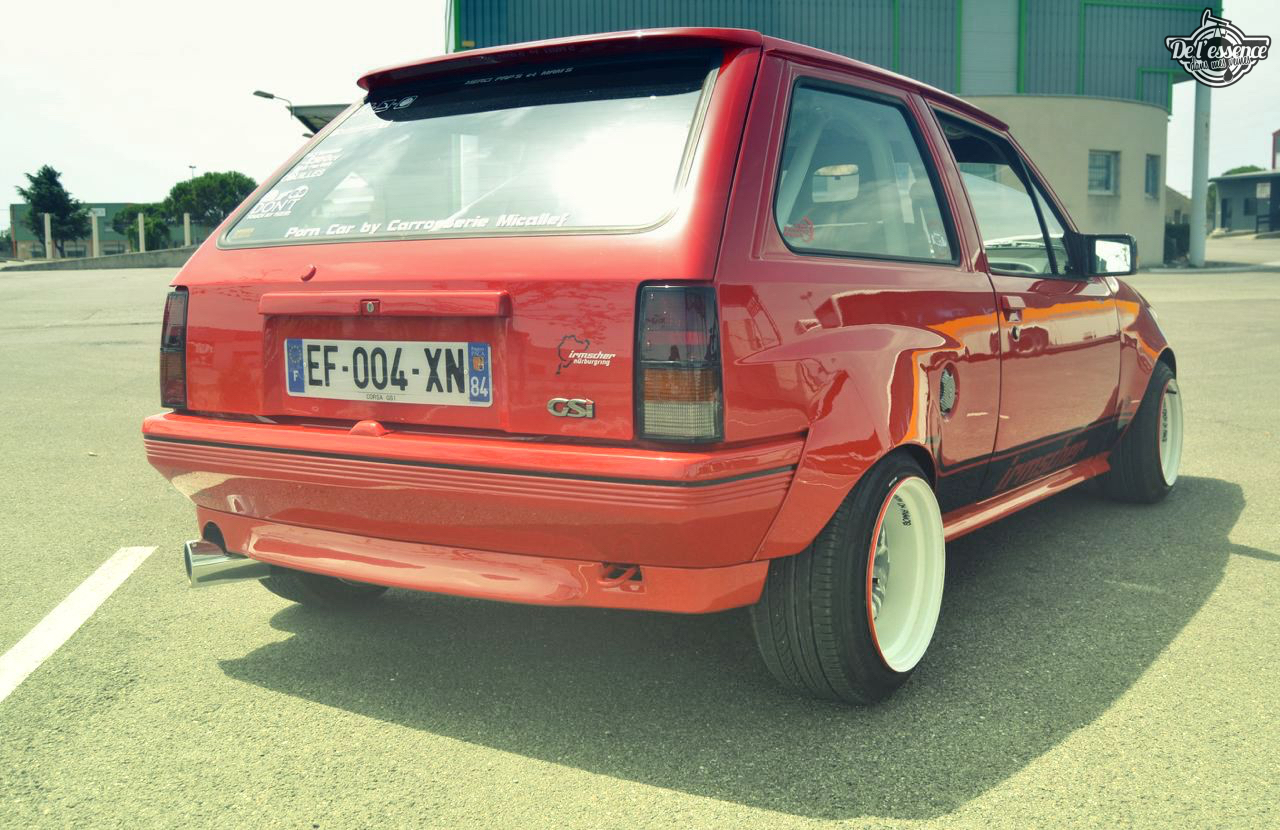 Opel Corsa GSi : Alain et sa fraise Tagada ! 40