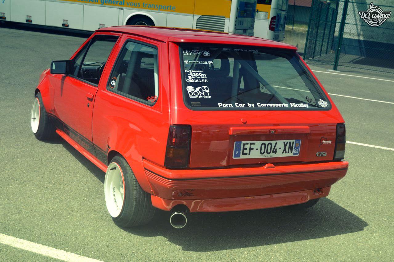 Opel Corsa GSi : Alain et sa fraise Tagada ! 27