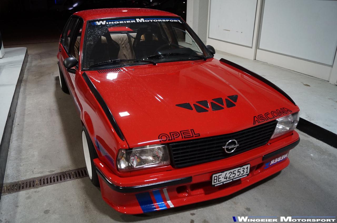 100 Opel Ascona 400 Opel Ascona B 400 Sachs Winter