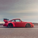 "Seattle Porsche 964 RWB : ""The Lady in red"" 8"