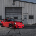 "Seattle Porsche 964 RWB : ""The Lady in red"" 7"