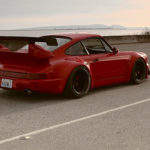 "Seattle Porsche 964 RWB : ""The Lady in red"" 6"