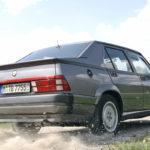 Alfa 75 Turbo America : Sale caractère !