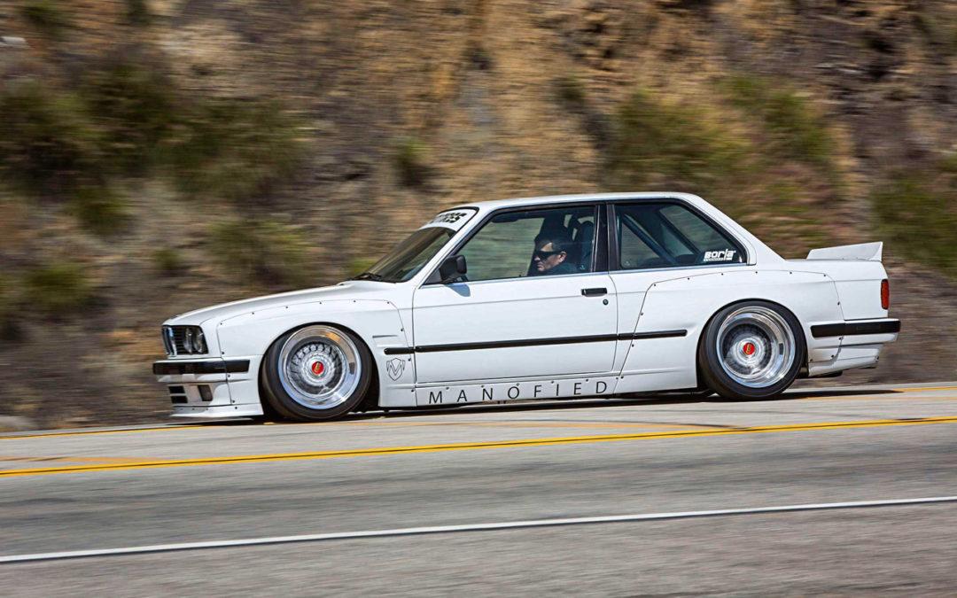 BMW E30 325is en Rocket Bunny… Musclé le lapin !