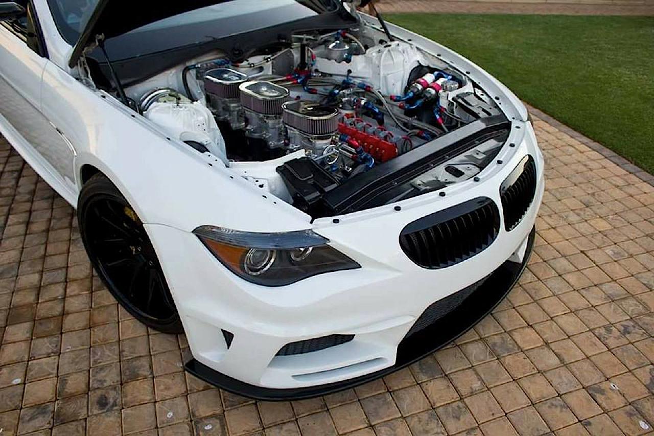 BMW M6 E63... Avec 6 Rotors à la place du V10 ! 9