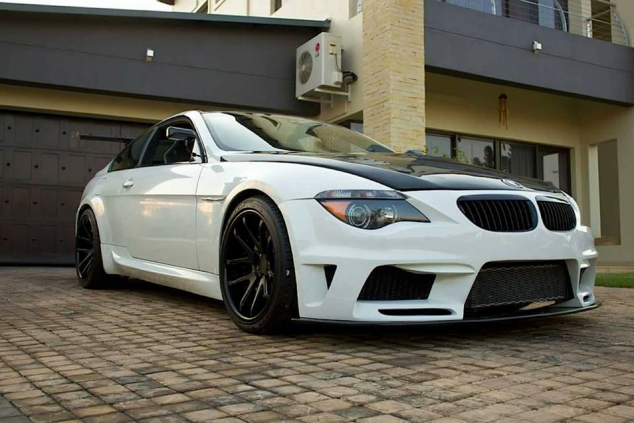 BMW M6 E63... Avec 6 Rotors à la place du V10 ! 1