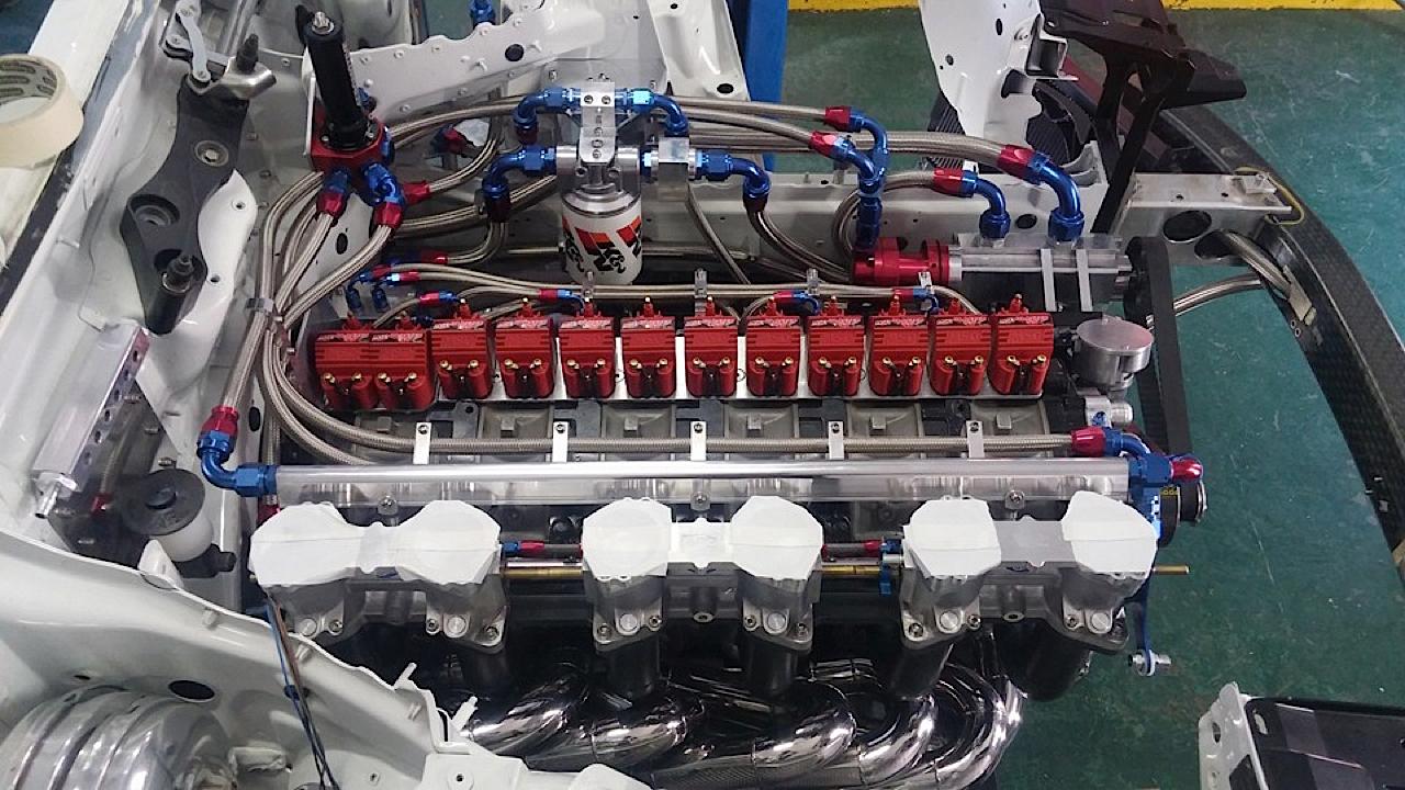 BMW M6 E63... Avec 6 Rotors à la place du V10 ! 8