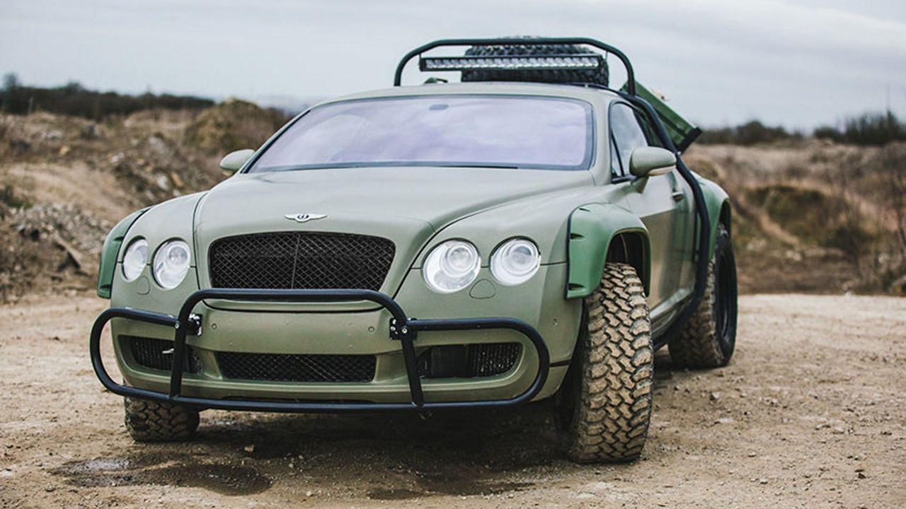 Du Zombie Crush en Bentley Continental GT... 1