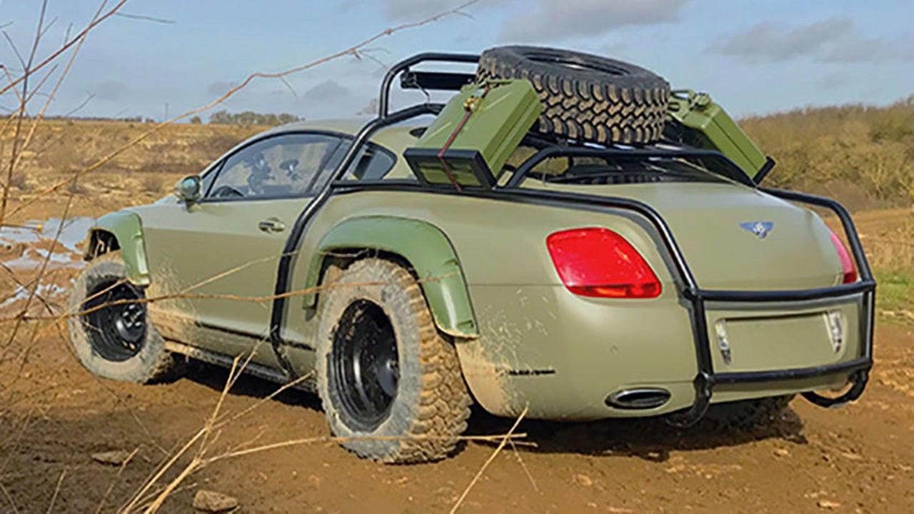 Du Zombie Crush en Bentley Continental GT... 5