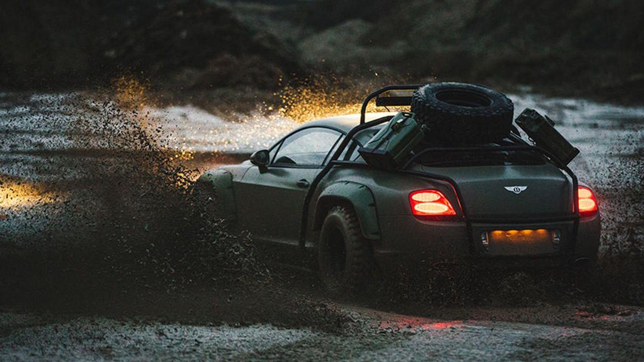 Du Zombie Crush en Bentley Continental GT... 7
