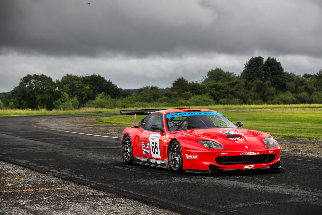 La Ferrari 550 Maranello GTS de Colin McRae... 11