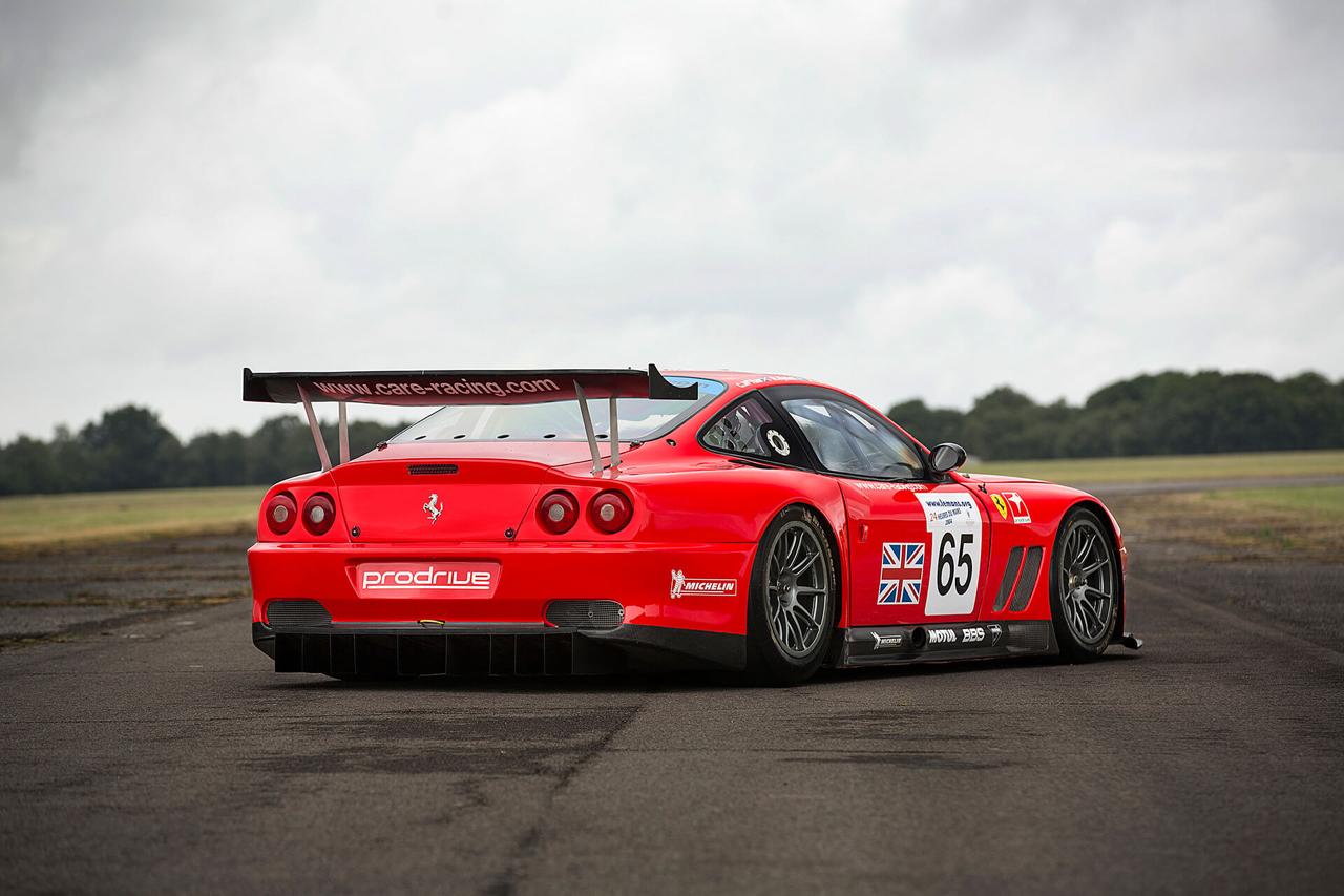 La Ferrari 550 Maranello GTS de Colin McRae... 12