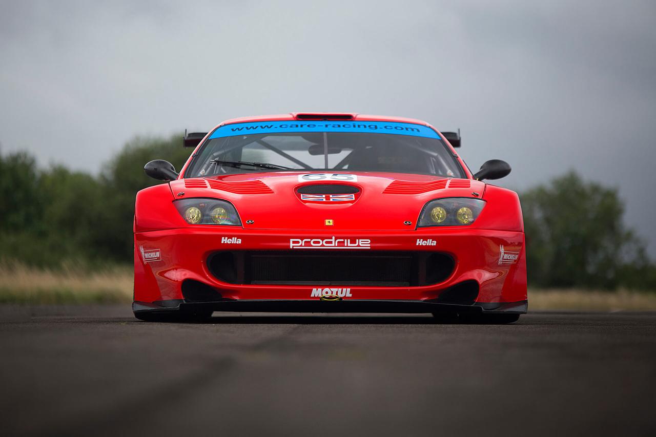La Ferrari 550 Maranello GTS de Colin McRae... 1