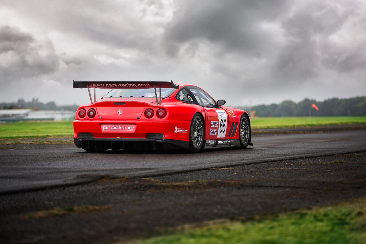 La Ferrari 550 Maranello GTS de Colin McRae... 2