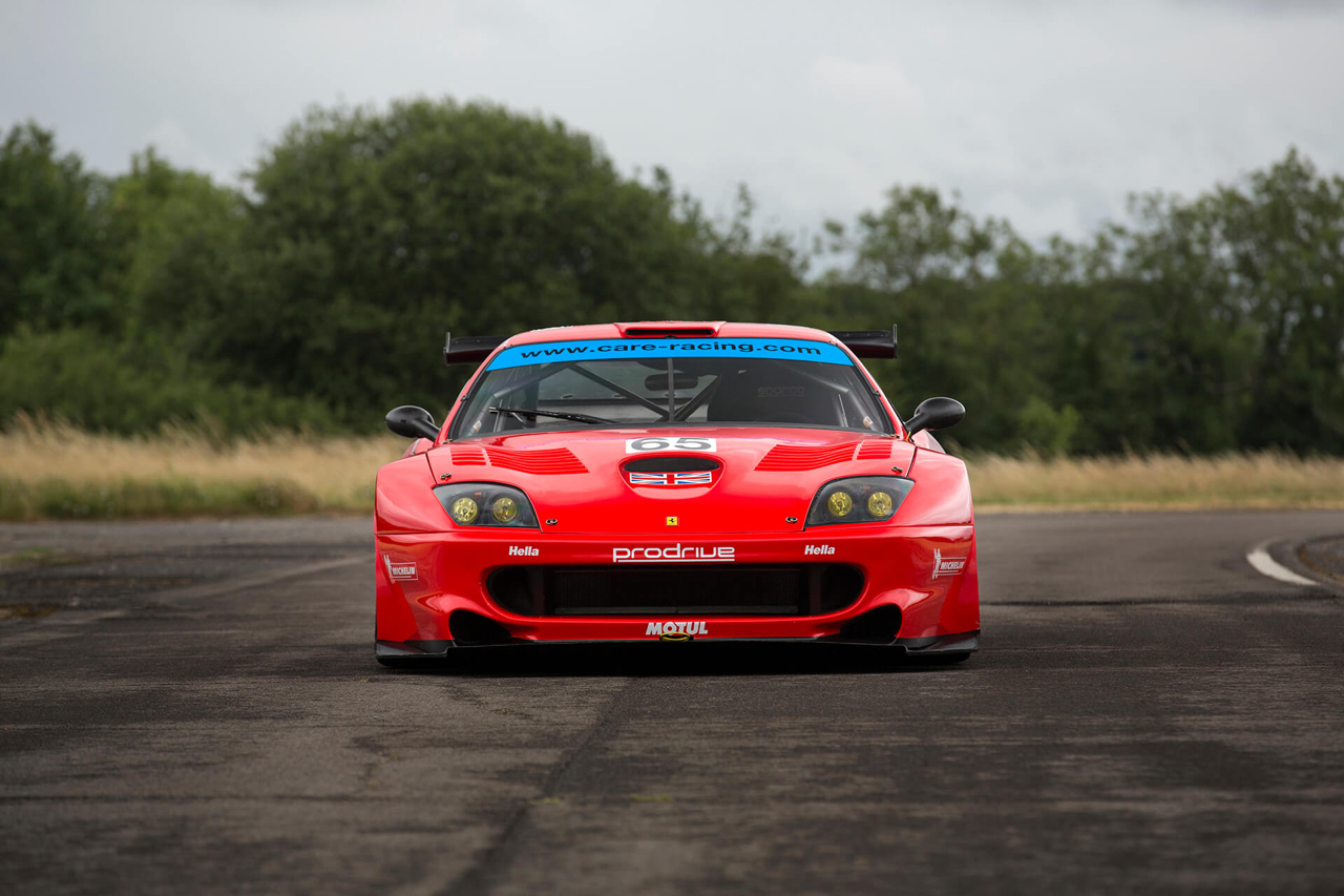 La Ferrari 550 Maranello GTS de Colin McRae... 16