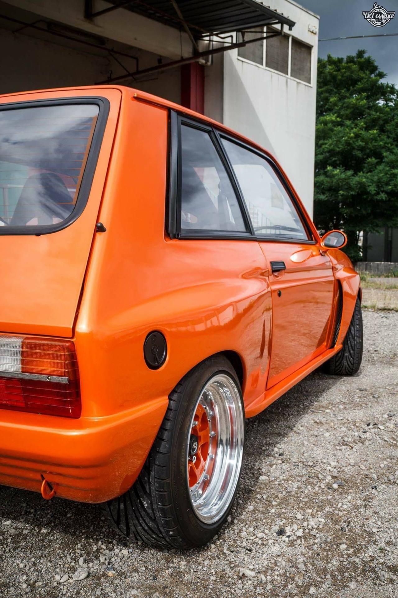 Peugeot 104 ZS sous stéroïdes ! 13