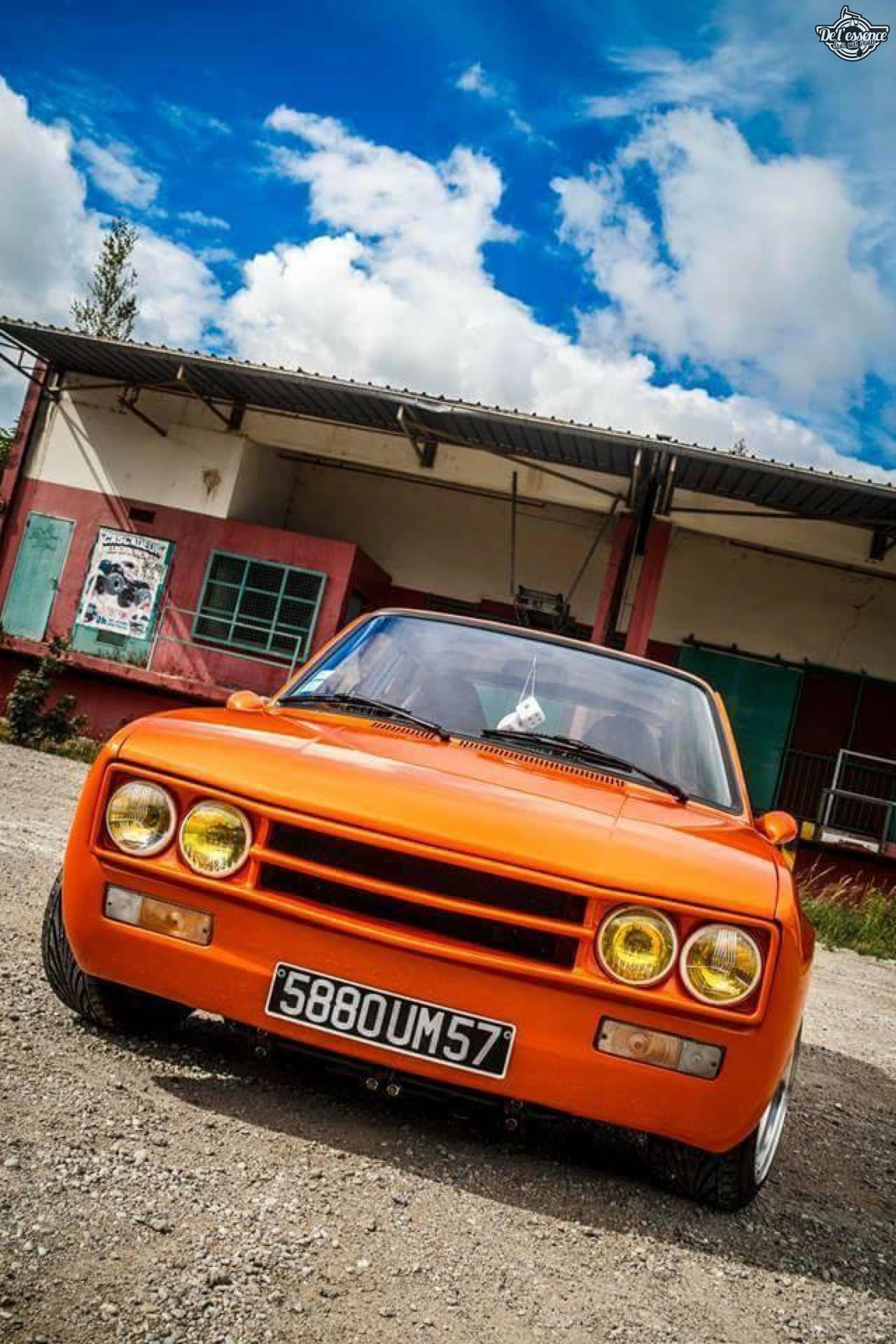 Peugeot 104 ZS sous stéroïdes ! 7