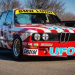 Engine Sound : Nick Padmore's BMW 530i  - Tempête à Goodwood !