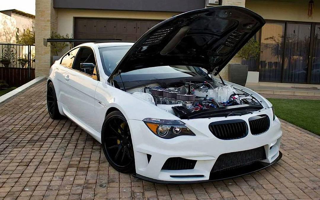 BMW M6 E63… Avec 6 Rotors à la place du V10 !