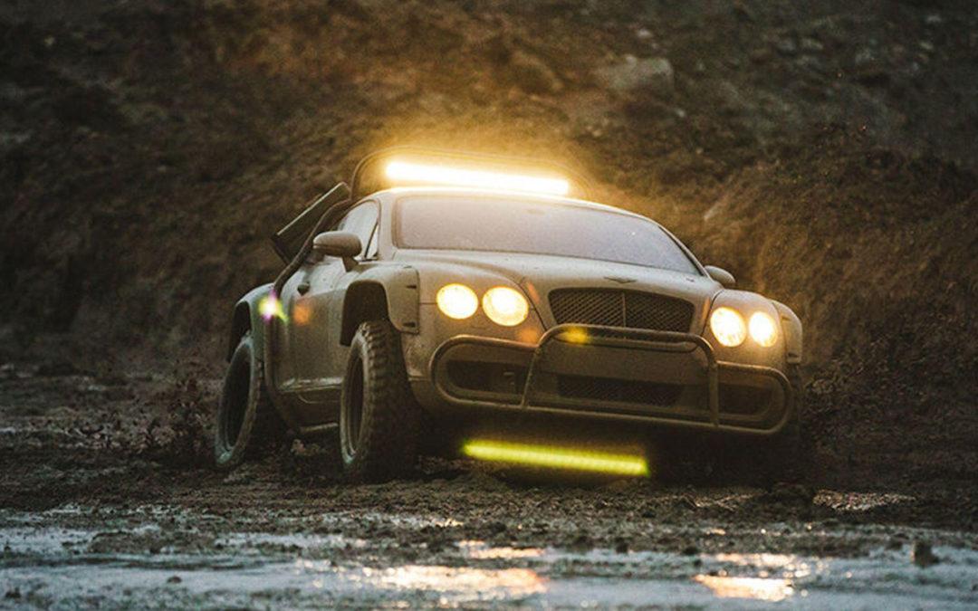 Du Zombie Crush en Bentley Continental GT…