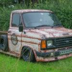 Slammed Ford : Custom en Transit…