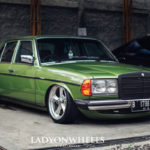 Mercedes 200E W123 : A beautiful legacy !