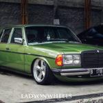 Mercedes 200E W123 : A beautiful legacy !