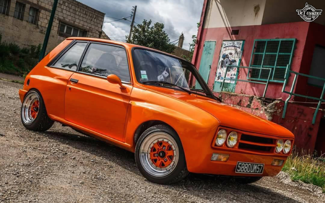 Peugeot 104 ZS sous stéroïdes !