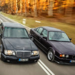 """The Street Fighters"" : Mercedes 500E vs BMW M5 E34"