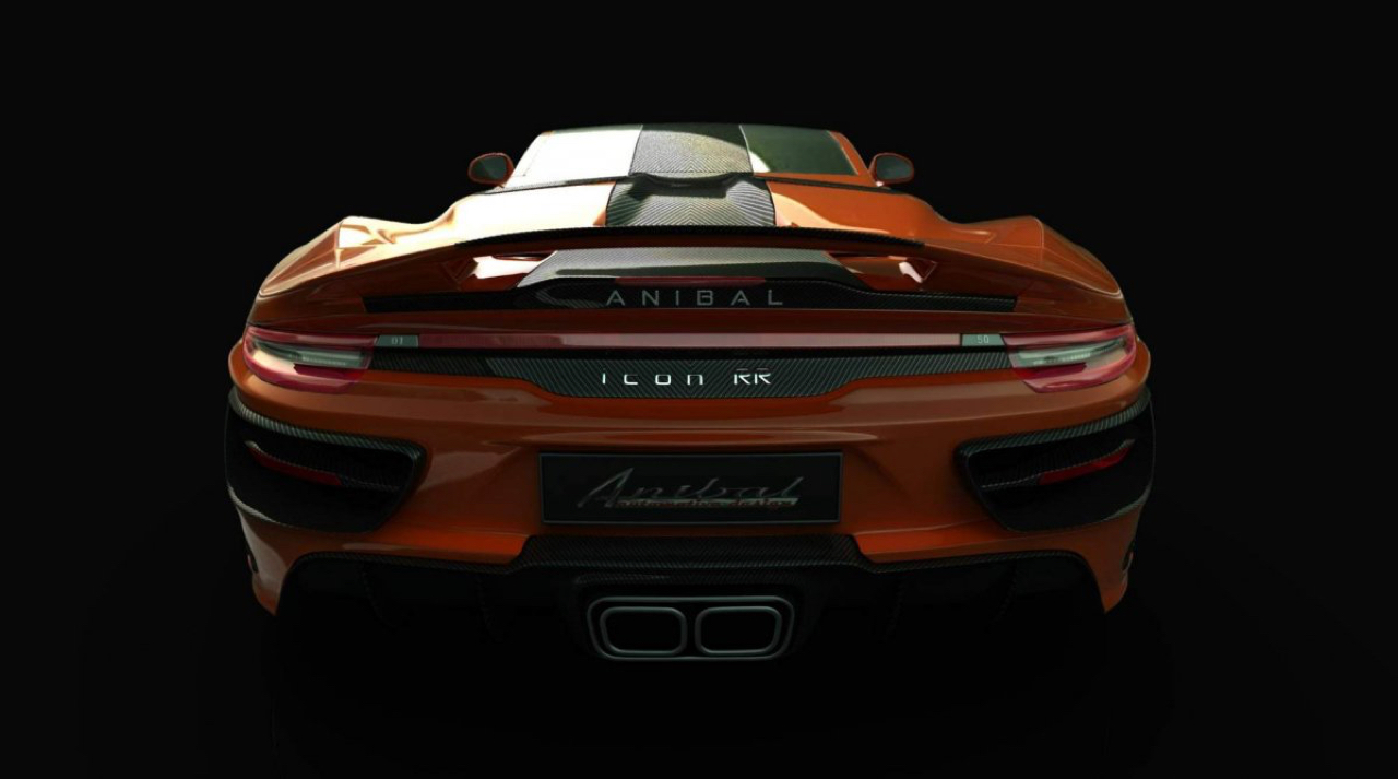 Anibal Icon : Une Porsche 911 de boucher ! 8