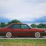 Audi 90 Quattro - Low & slow en BBS 21