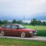 Audi 90 Quattro - Low & slow en BBS 20