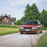 Audi 90 Quattro - Low & slow en BBS 19