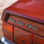 Audi 90 Quattro - Low & slow en BBS 17