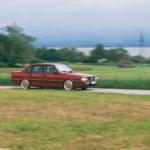 Audi 90 Quattro - Low & slow en BBS 15