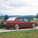 Audi 90 Quattro - Low & slow en BBS 12