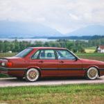 Audi 90 Quattro - Low & slow en BBS 9