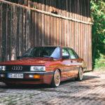 Audi 90 Quattro - Low & slow en BBS 8