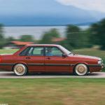 Audi 90 Quattro - Low & slow en BBS 6