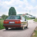 Audi 90 Quattro - Low & slow en BBS 5