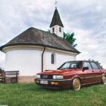 Audi 90 Quattro - Low & slow en BBS 3