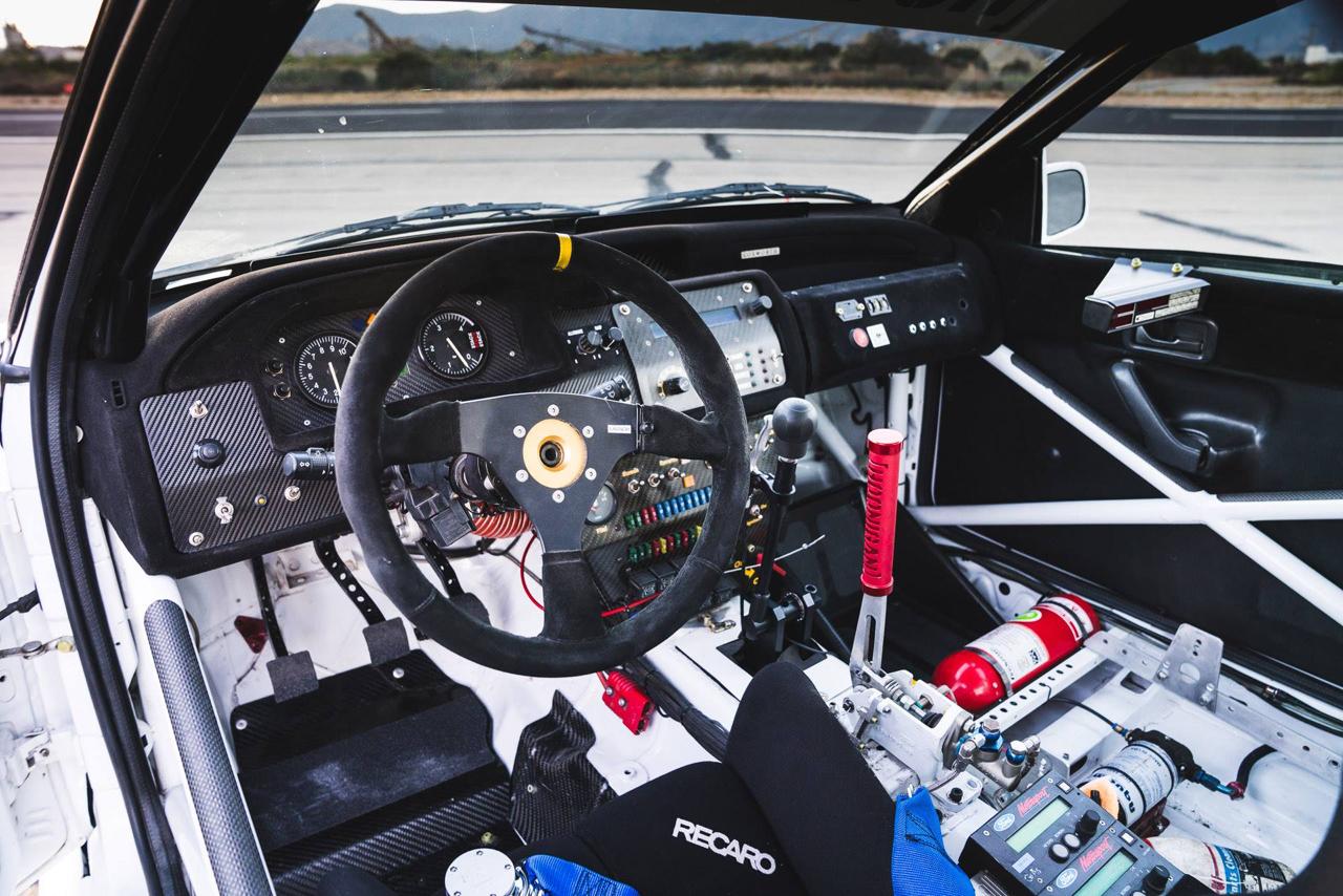 La dernière arrivée dans le garage de Ken Block : Une Ford Escort RS Cosworth 11