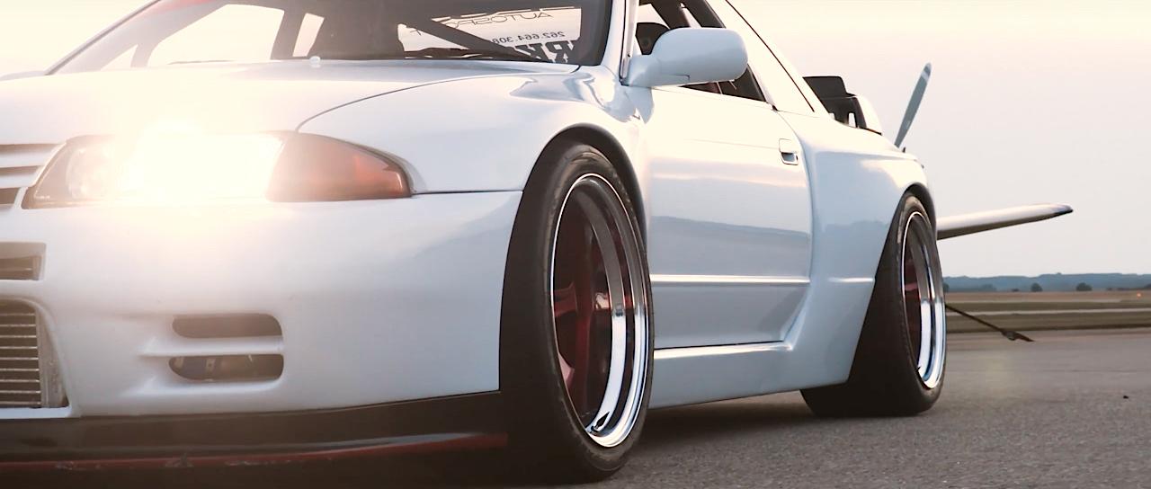 Rocket Bunny Skyline GTR R32... Godzilla a poussé de la fonte ! 1