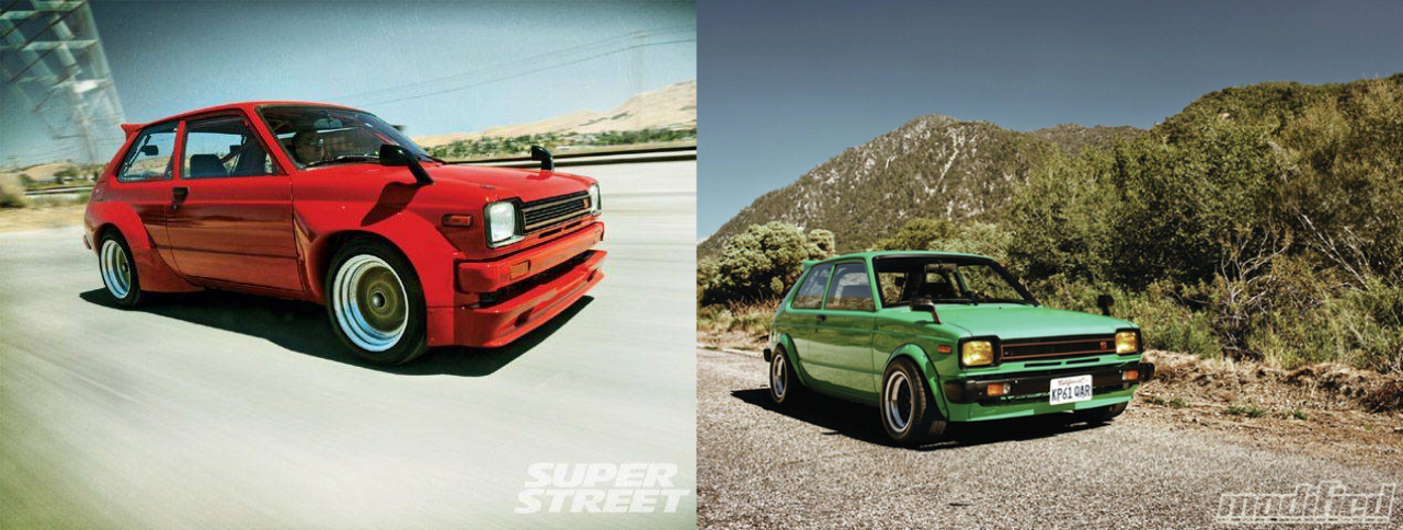 '81 Toyota Starlet KP61 : F22 ou 4AGE ? 3