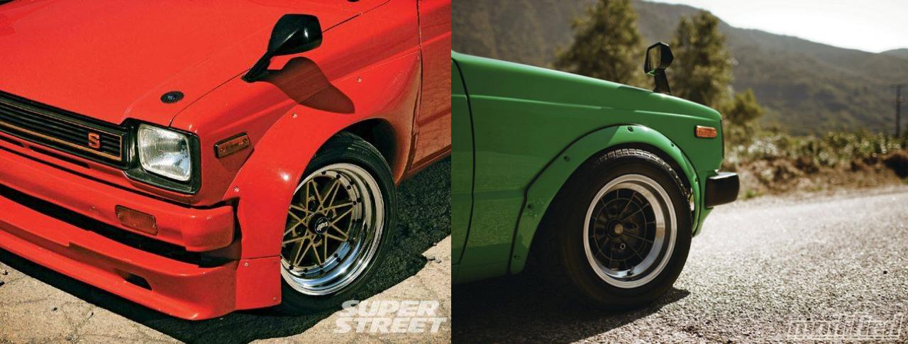 '81 Toyota Starlet KP61 : F22 ou 4AGE ? 6