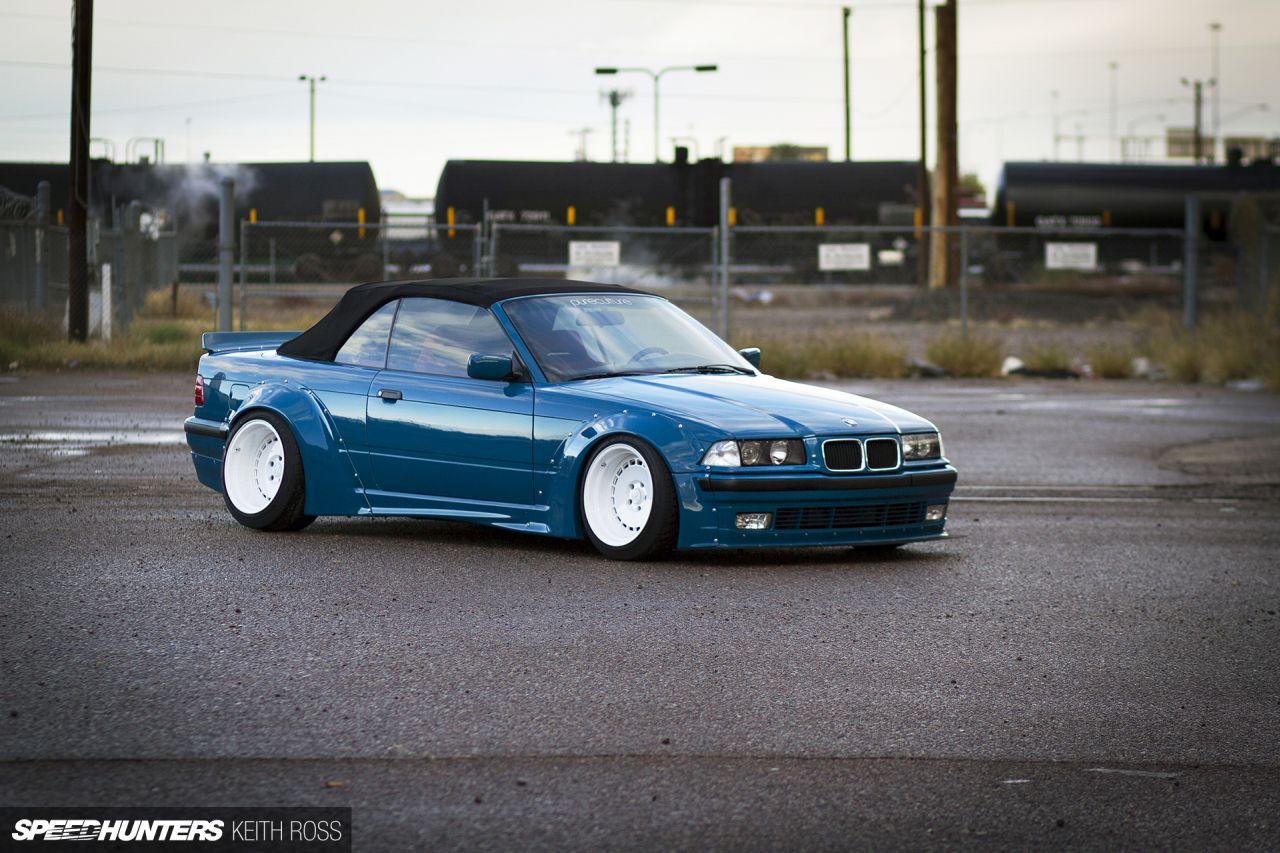 Rocket Bunny BMW E36... Quand la Bavière mange des Sushis ! 2