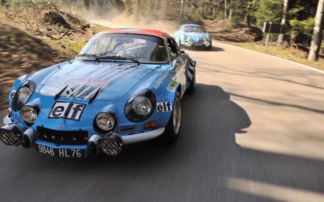Alpine A110 Gr.4 – Passé… Présent !